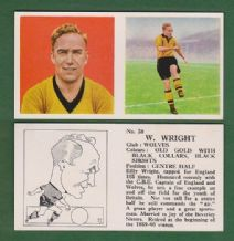 Wolverhampton Wanderers Billy Wright England 38